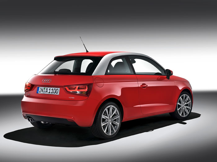Audi A-1 1.6-TDI 90 CV. Posterior