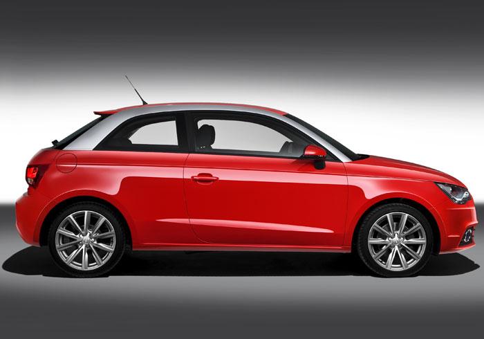 Audi A-1 1.6-TDI 90 CV. Lateral