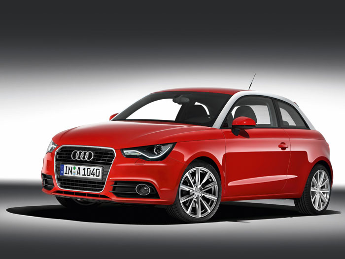 Audi A-1 1.6-TDI 90 CV. Delantera
