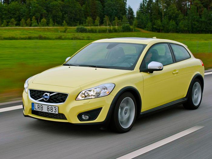 Volvo C30 1.6D DRIVe 115 CV. Frontal, movimiento