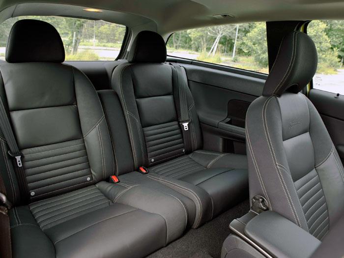 Volvo C30 1.6D DRIVe 115 CV. Asientos