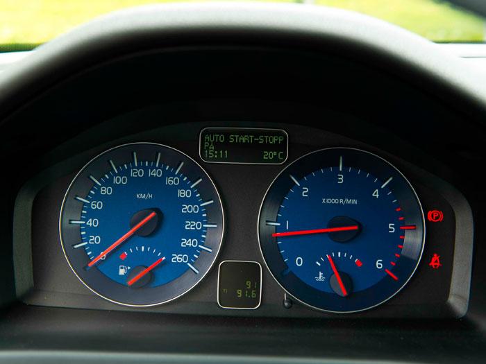 Volvo C30 1.6D DRIVe 115 CV. Cuadro de instrumentación