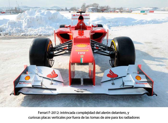 Ferrari F. Frontal
