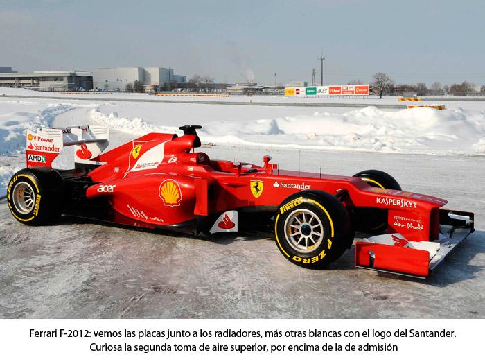 Ferrari F. Lateral