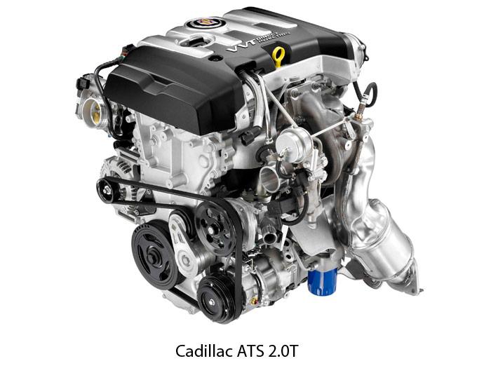 Cadillac ATS 2.0T. Motor