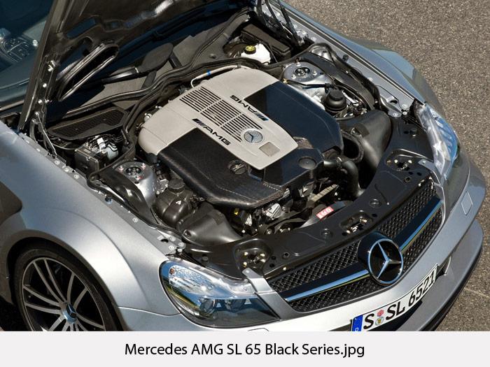 Mercedes AMG SL 65 Black Series