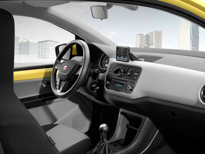 Seat Mii 1.0 75 CV. Interior