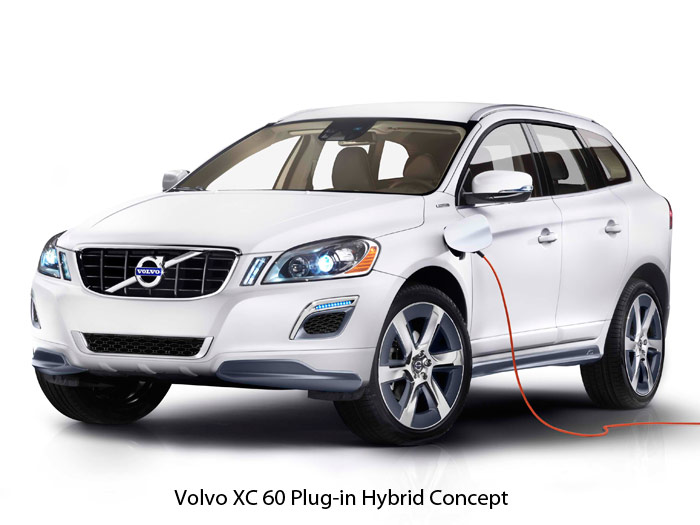 Volvo XC-60 Plug-in Hybrid Concept