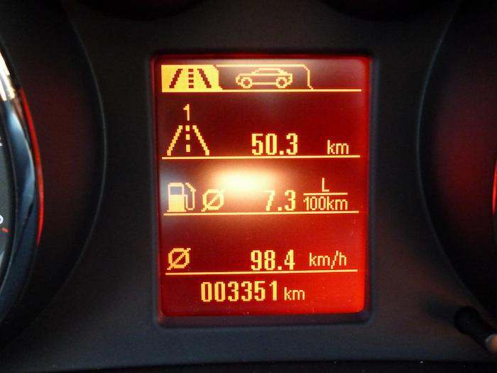 Opel Insignia Biturbo 4x4. Consumo.