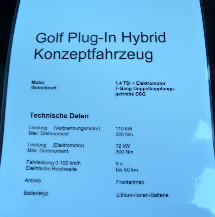 Volkswagen Golf Híbrido