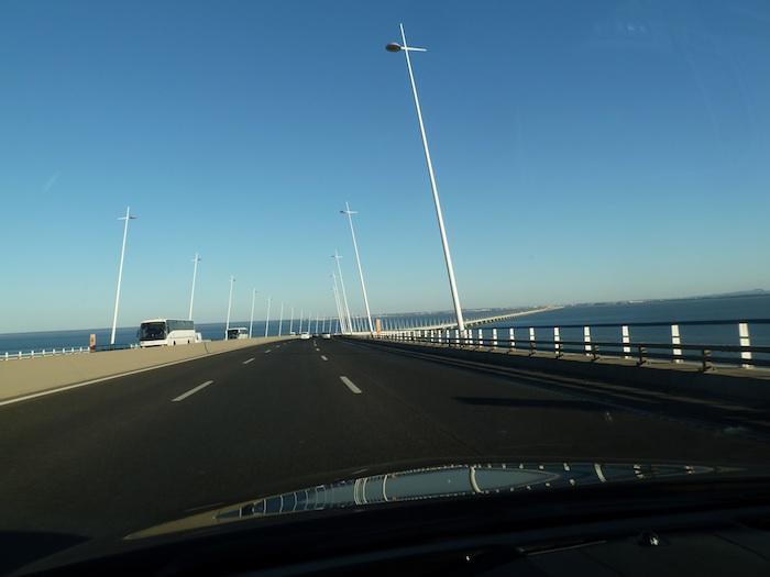 Puente en Portugal, desde el Opel Insignia Biturbo