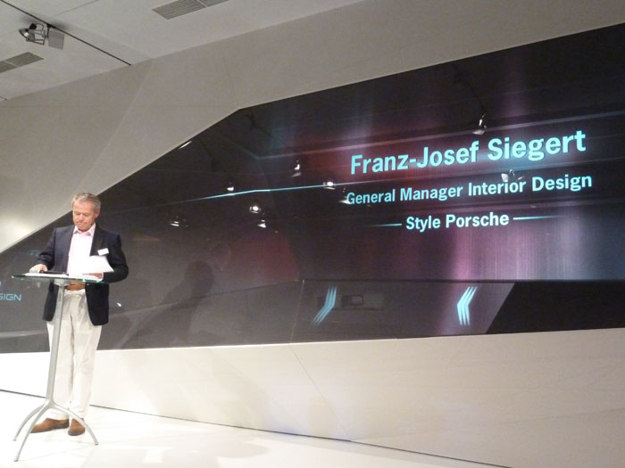 Franz Josef Siegert. Director General de Diseño de Interiores