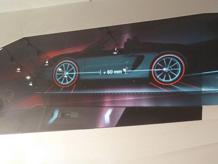 Porsche Boxster 2012. Llantas