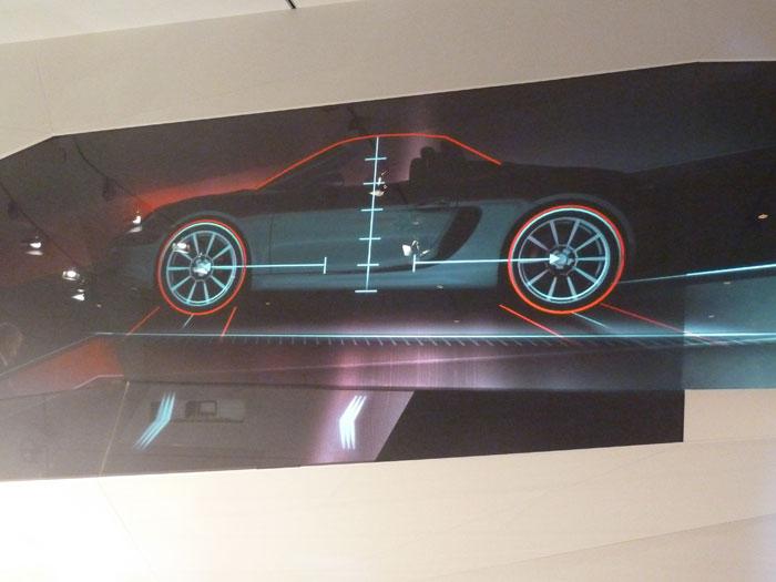 Porsche Boxster. Altura, Llantas