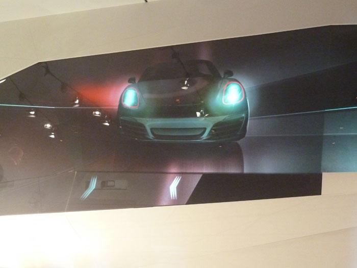 Porsche Boxster 2012. Faros