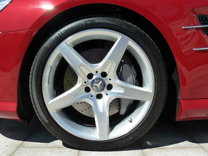 """Mercedes-Benz Clase SL. Llanta de aleación AMG de 5 radios (19"""")"""