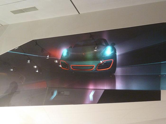 Porsche Boxster 2012. Entradas de aire