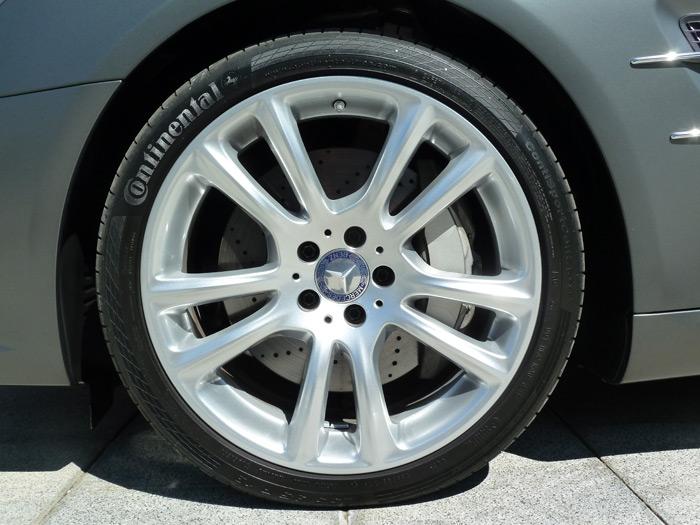 """Mercedes-Benz Clase SL. Llantas de aleación de 5 radios dobles (18"""")"""