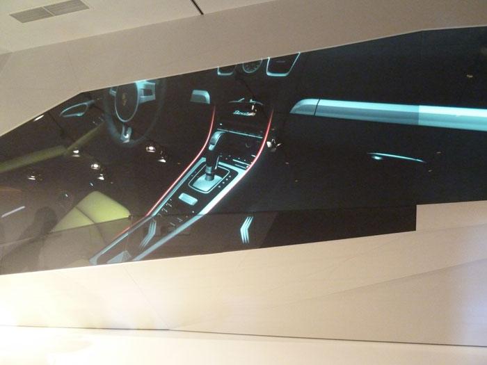 Porsche Boxster 2012. Consola central