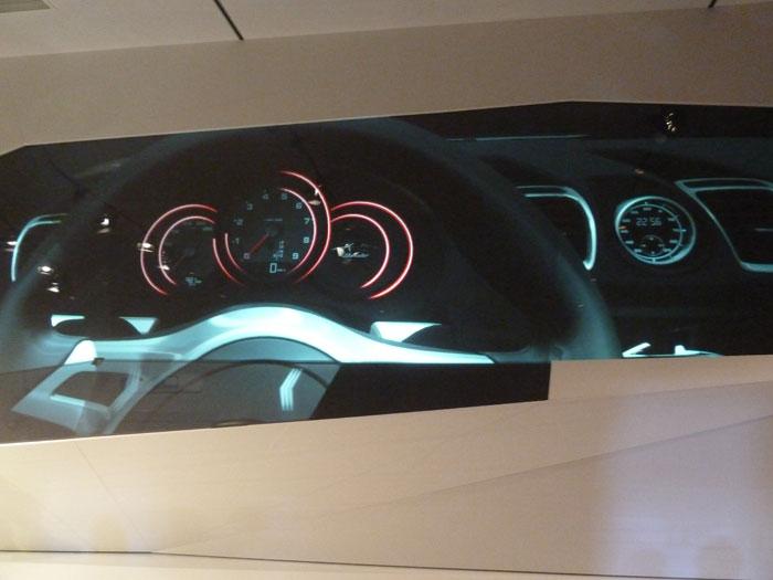 Porsche Boxster 2012. Cuadro de instrumentación