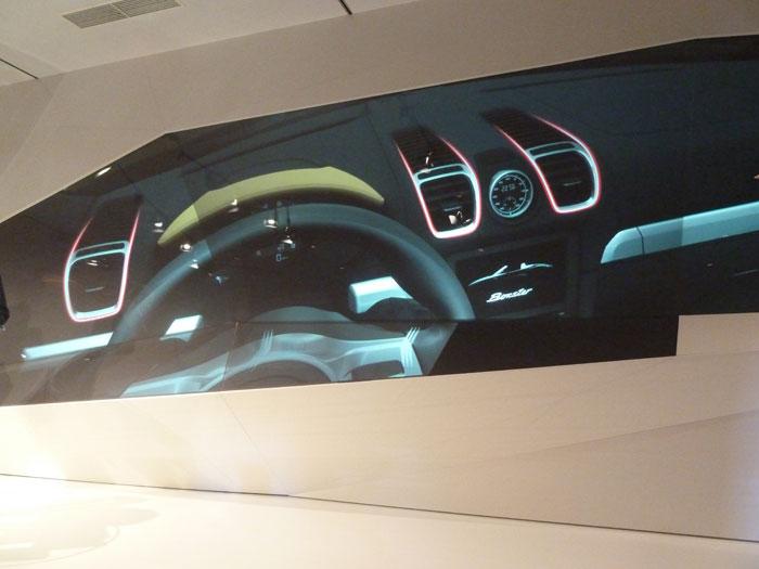 Porsche Boxster 2012. Salidas de aire