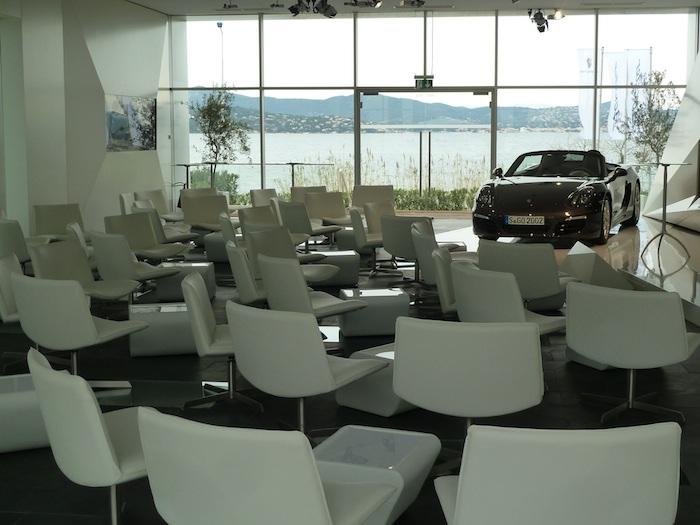 Porsche Boxster 2012. Presentación. Sala de prensa.