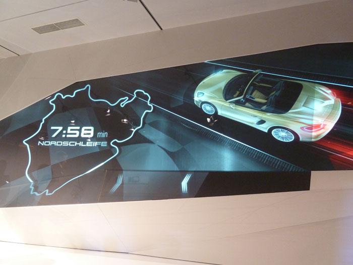 Porsche Boxster 2012. Velocidad