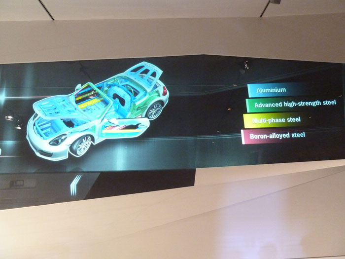 Porsche Boxster 2012. Chasis