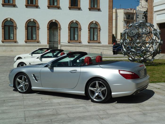 Mercedes-Benz Clase SL 500 Roadster V8 Cilindros 435 CV