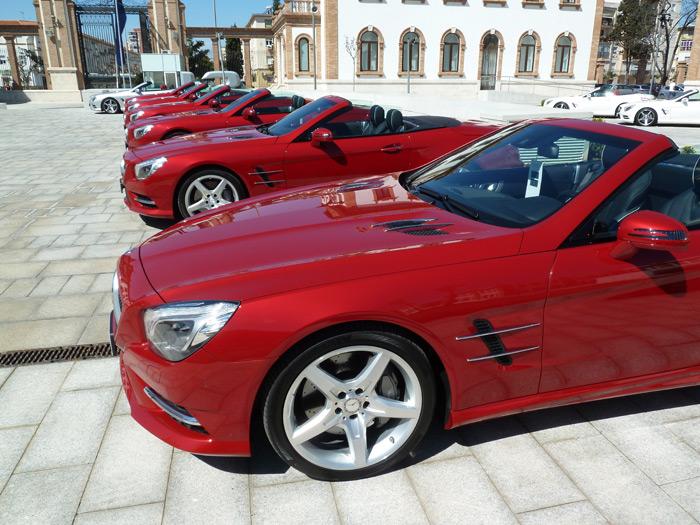 Mercedes-Benz Clase SL 350 Roadster V6 Cilindros 306 CV