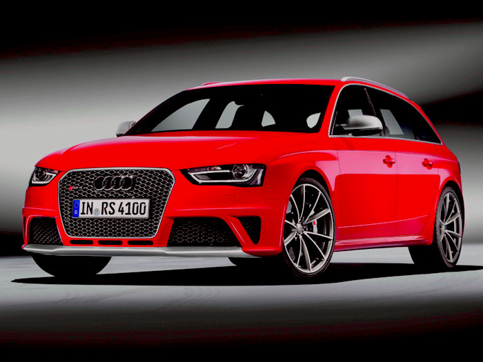 Salón de Ginebra. Audi RS4 Avant