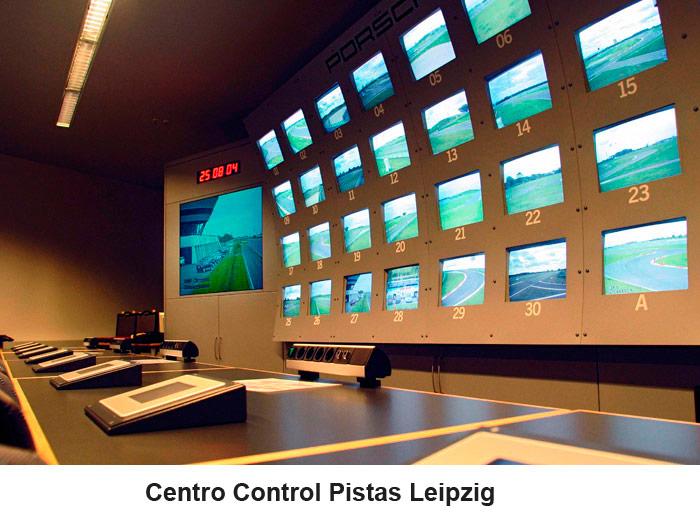 Centro Control Pistas Leipzig