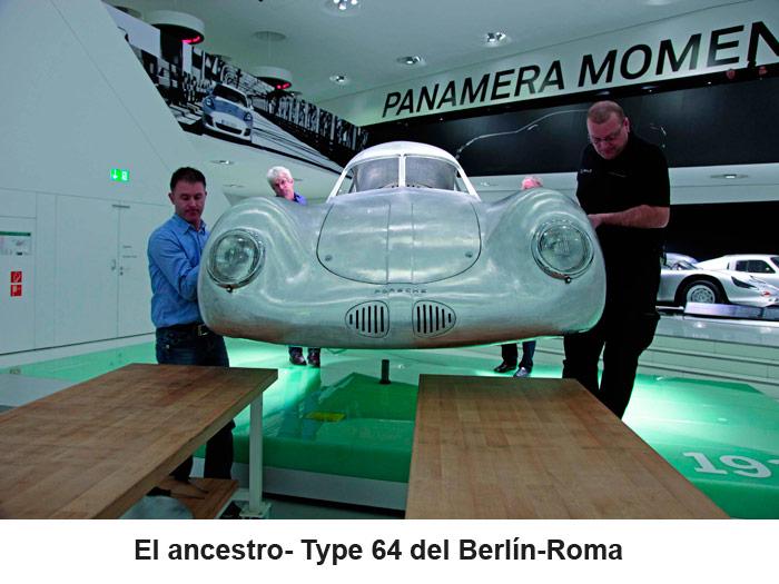 El ancestro Type 64 del Berlín-Roma