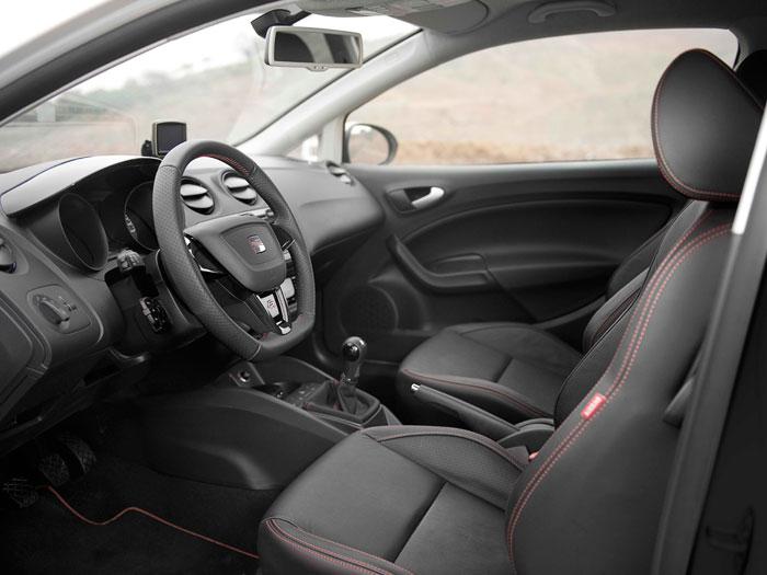 Seat Ibiza FR SC 1.4-TSI DSG. Interior. Salpicadero.