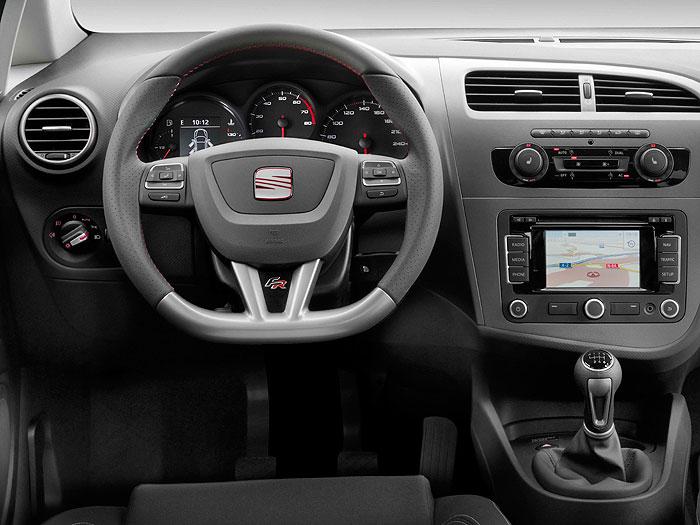 Seat León FR 2.0-TDi 170 CV. Salpicadero, instrumentación