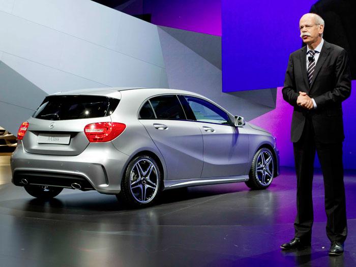 Salón de Ginebra. Mercedes-Benz Clase A