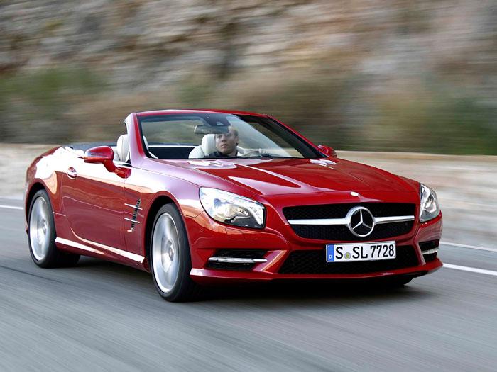 Salón de Ginebra. Mercedes-Benz SL