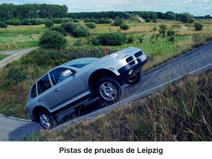 Pistas de pruebas de Leipzig