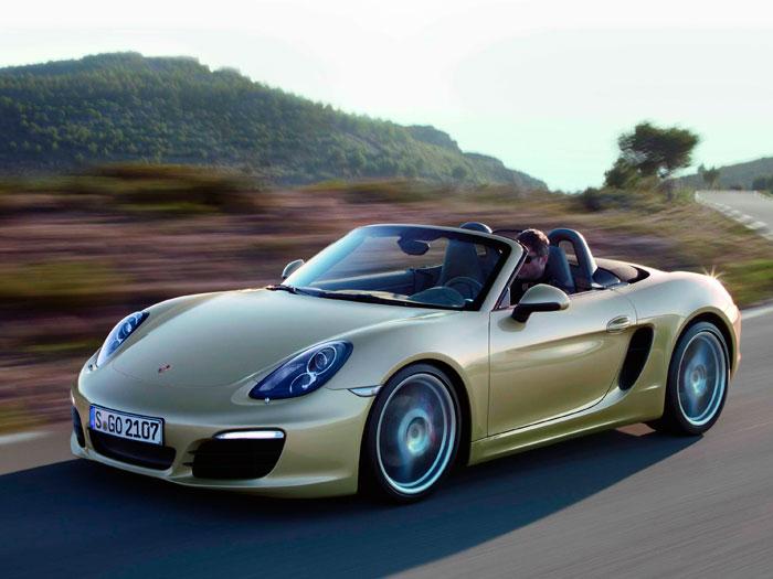 Salón de Ginebra. Porsche Boxster