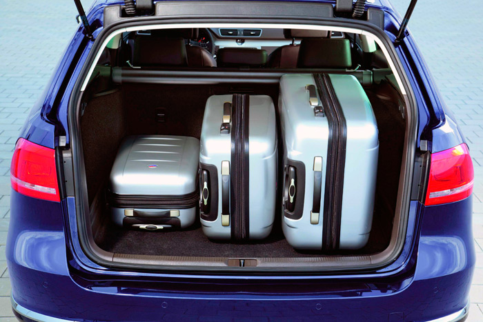 Volkswagen Passat Variant 1.6-Tdi Blue Motion. Maletero