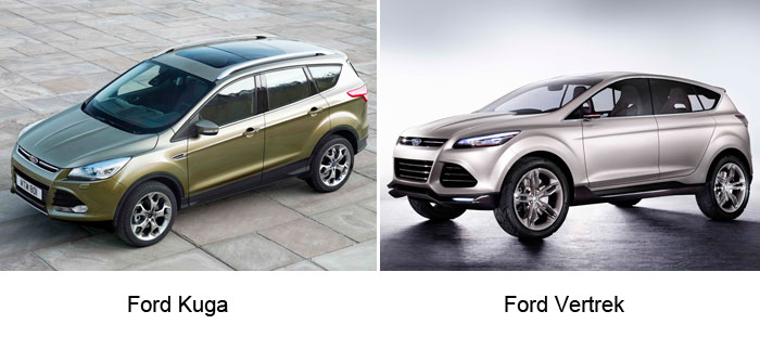 Salón de Ginebra. Ford Kuga y Ford Vertrek