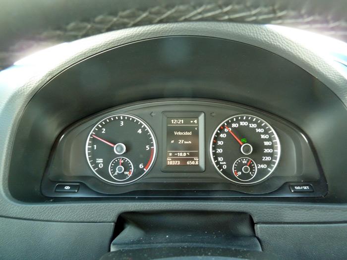 Volkswagen Caravelle. Cuadro de instrumentos