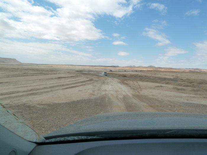 Conduciendo por offroad