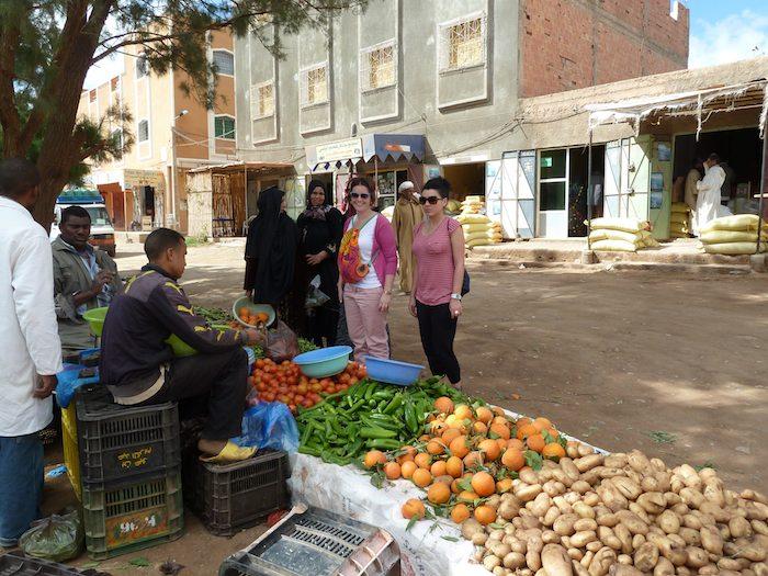 Mercado en Achbarou