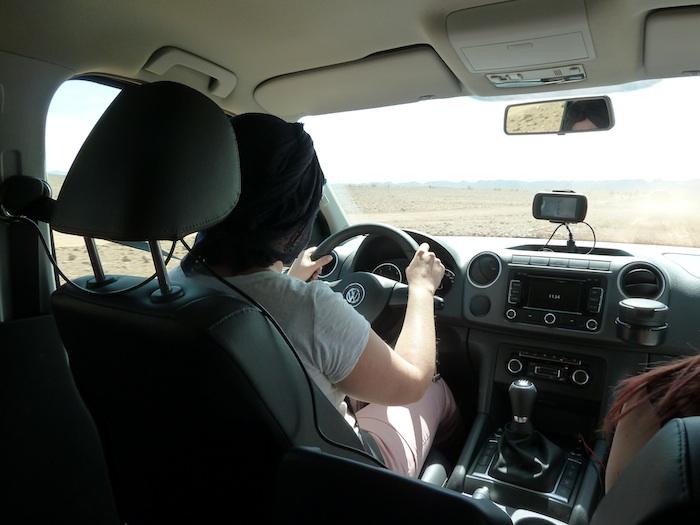 Nena 1 al volante