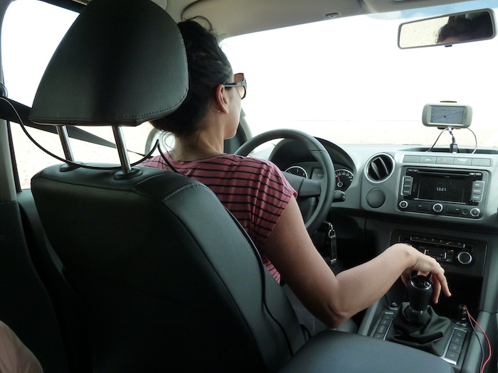 Boyu al volante