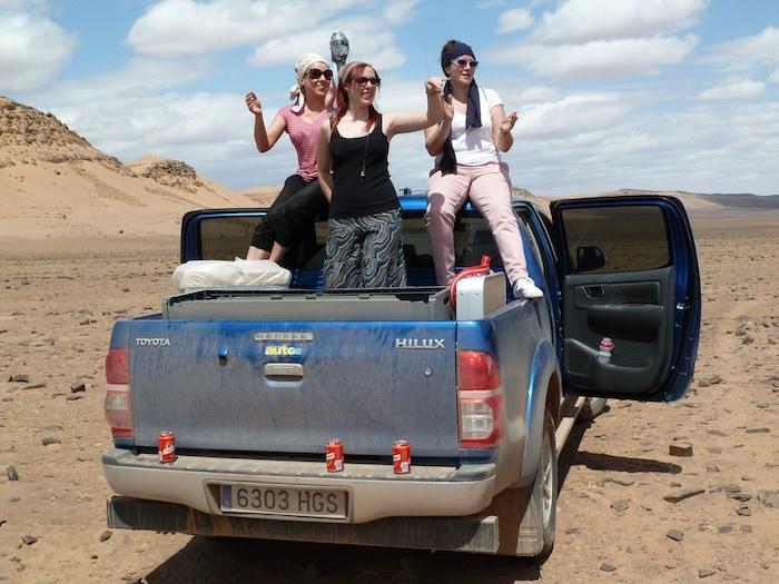 Les nenes en el desierto