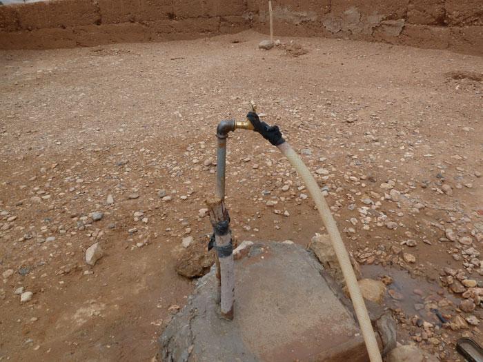 Fuente de agua potable