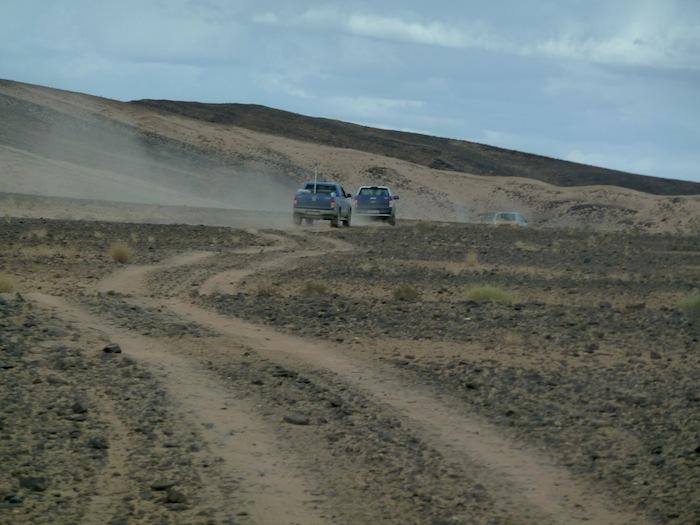 En caravana por el desierto