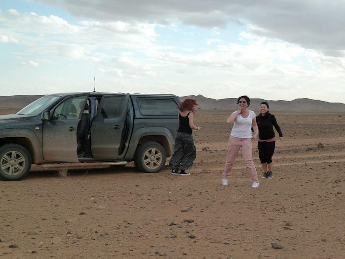 Baile en el desierto